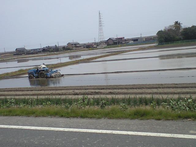 11時半、愛知県通過中