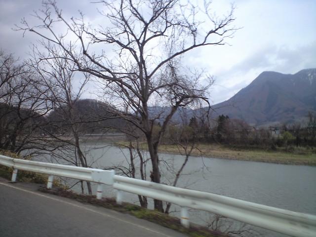 信州中野から国道117号へ