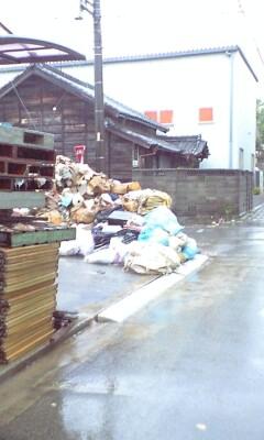 岡崎の豪雨被害
