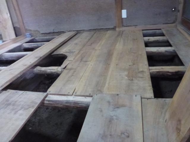 2014年、南陽市水害復旧支援 2日目
