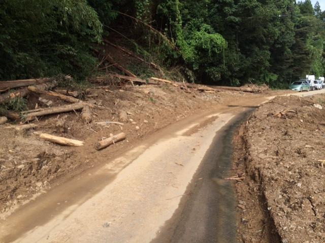 8月21日 丹波水害復旧支援