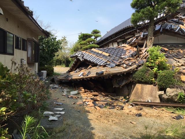 8/27 熊本地震・益城町支援活動