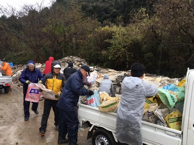 12/11 鳥取地震 復旧支援活動