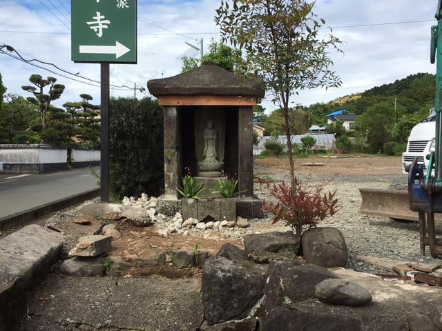 5月4日 益城町復興支援活動 祠の修復