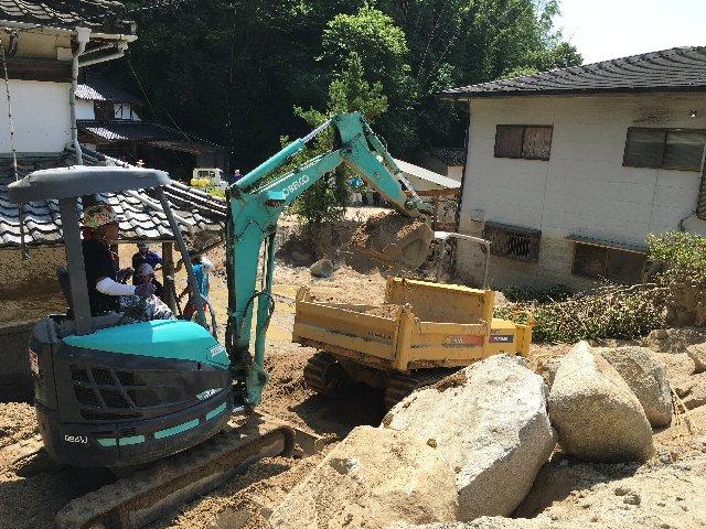 2007年7月 九州北部豪雨水害 復旧支援活動