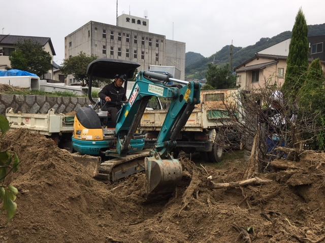 9/24西日本豪雨 広島坂町 支援活動