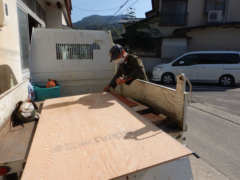 11/10-11/11 西日本豪雨・吉田町〜坂町